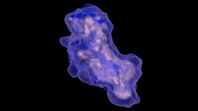 visualização avançada vcar pulmonar.